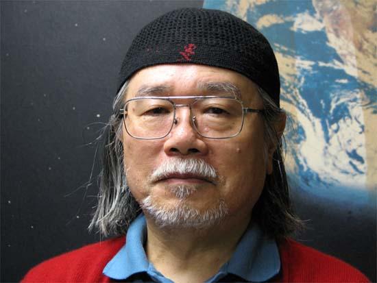 Fotografía del autor del manga Leiji Matsumoto